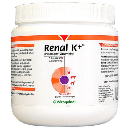 Vetoquinol  Renal K+ порошок 100 г 0213 B6.2
