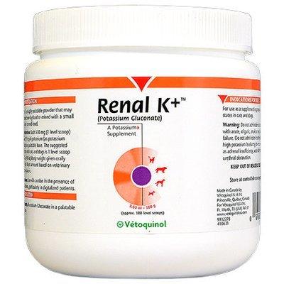 Vetoquinol  Renal K+ порошок 100 г