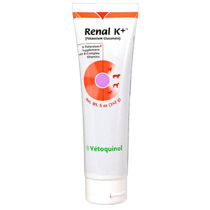 Vetoquinol  Renal K+ гель 142 г 0214 B6.2