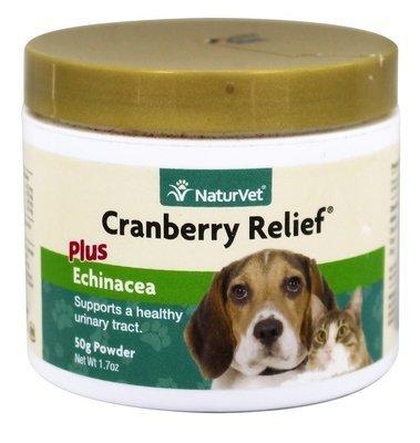 NaturVet Cranberry Relief - Клюква и Эхинацея, уп. 50 г