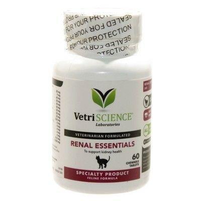Vetri-Science Renal Essentials For Cats Ренал Эссеншиалз для кошек 60 шт