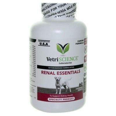 Vetri-Science Renal Essentials - Ренал Эссеншиалз для собак, уп. 60 шт