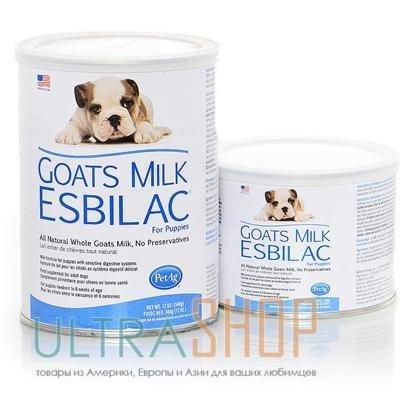 PetAg Goats Milk Esbilac - козье молоко для щенков 0313 B1