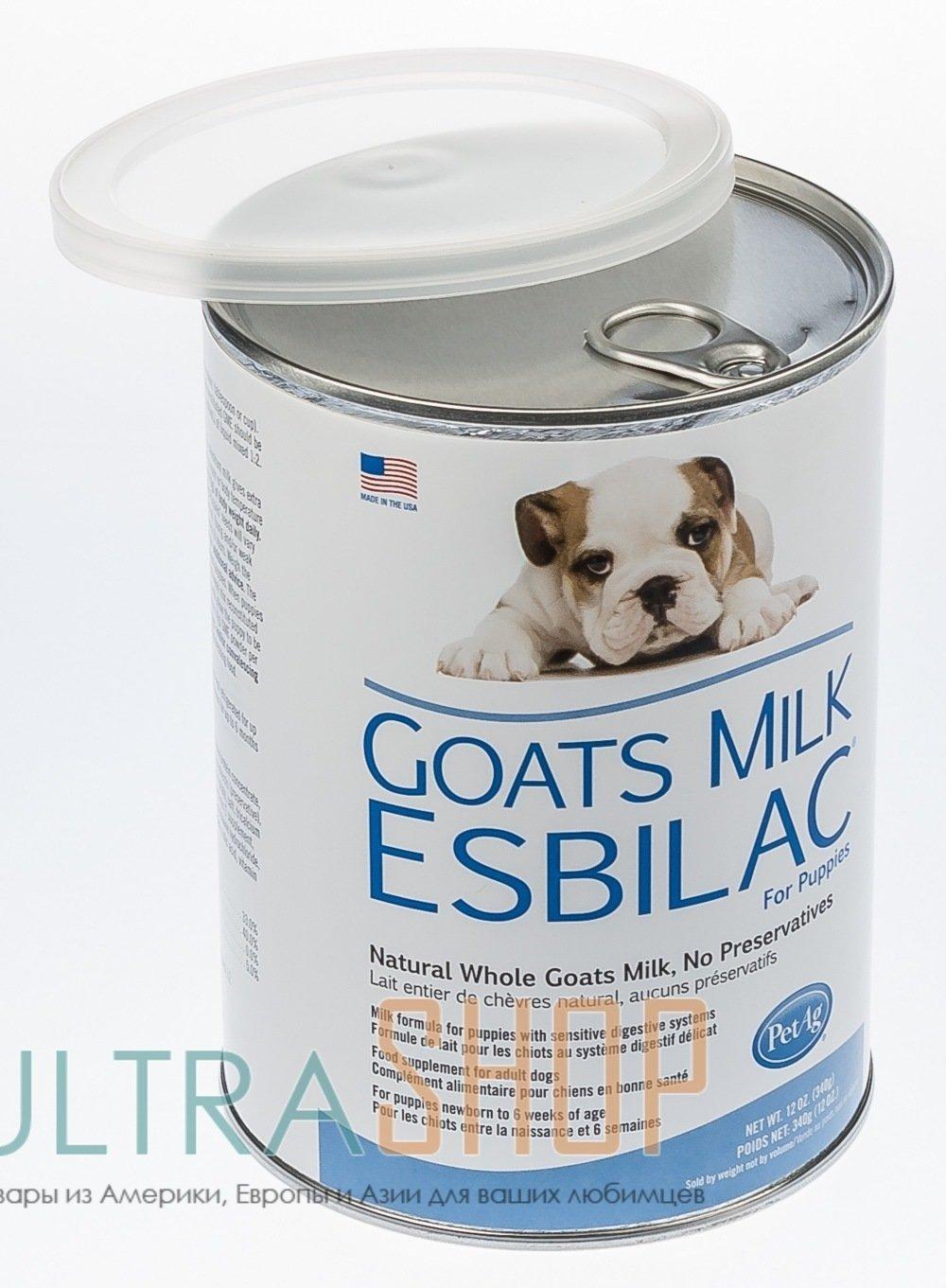 PetAg Goats Milk Esbilac - козье молоко для щенков