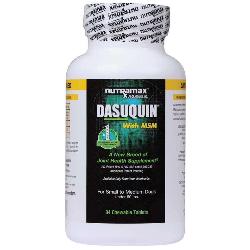 Dasuquin with MSM для мелких и средних пород собак, уп. 84 шт 54062 Е1