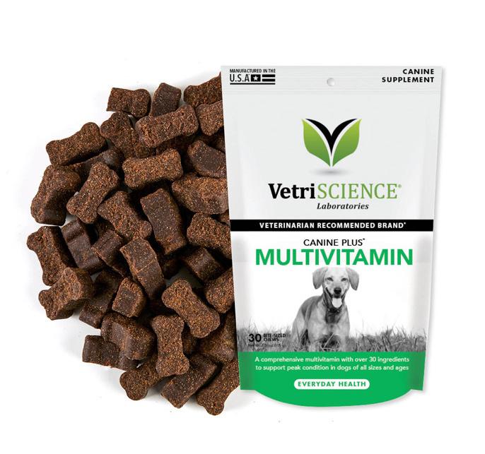 Vetri-Science Canine Plus Multivitamin, витамины в лакомстве, уп.30 шт