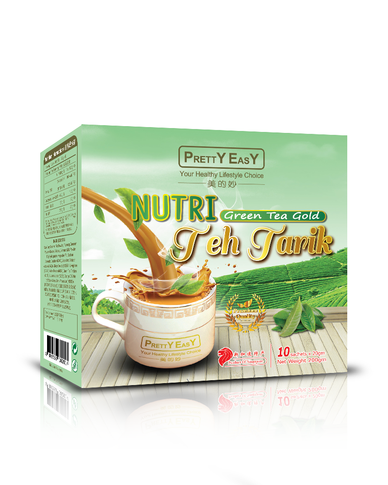 Nutri Green Tea Gold Teh Tarik Fit