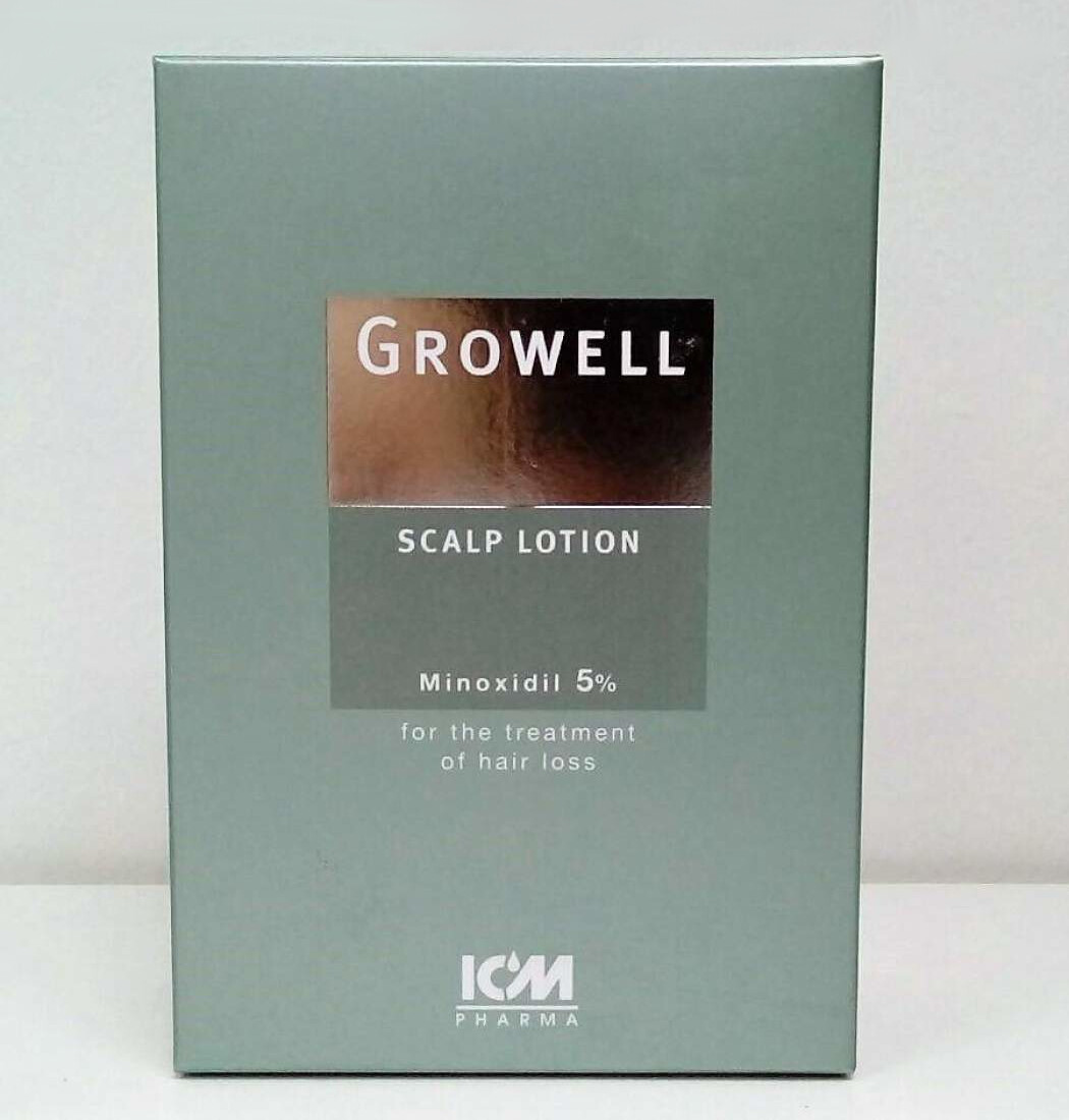 Growell 5% Scalp Lotion (60ml)