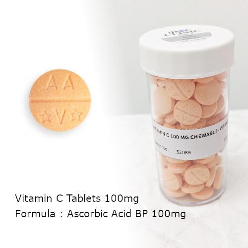 Vitamin C 100 mg (100 Tabs)