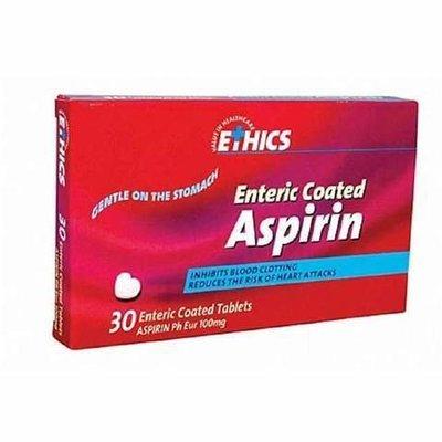 Aspirin 100 mg (30 Tabs)