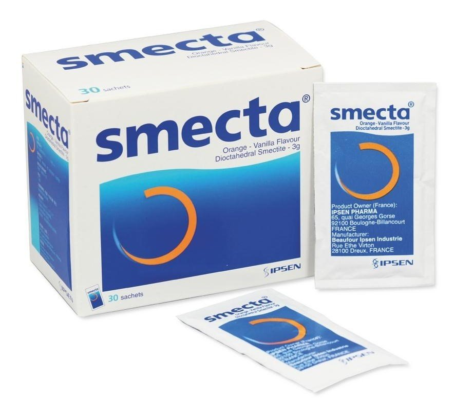 Smecta (Dioctahedral Smectite) (10 sachets)