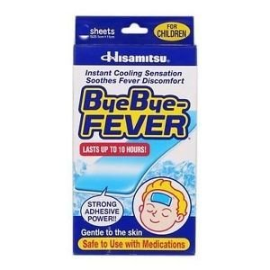 Bye Bye Fever Cooling Gel Sheet For Children (1 box)