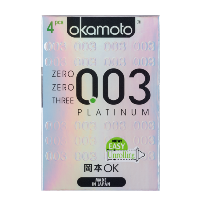 0.03 Platinum Okamoto Condom