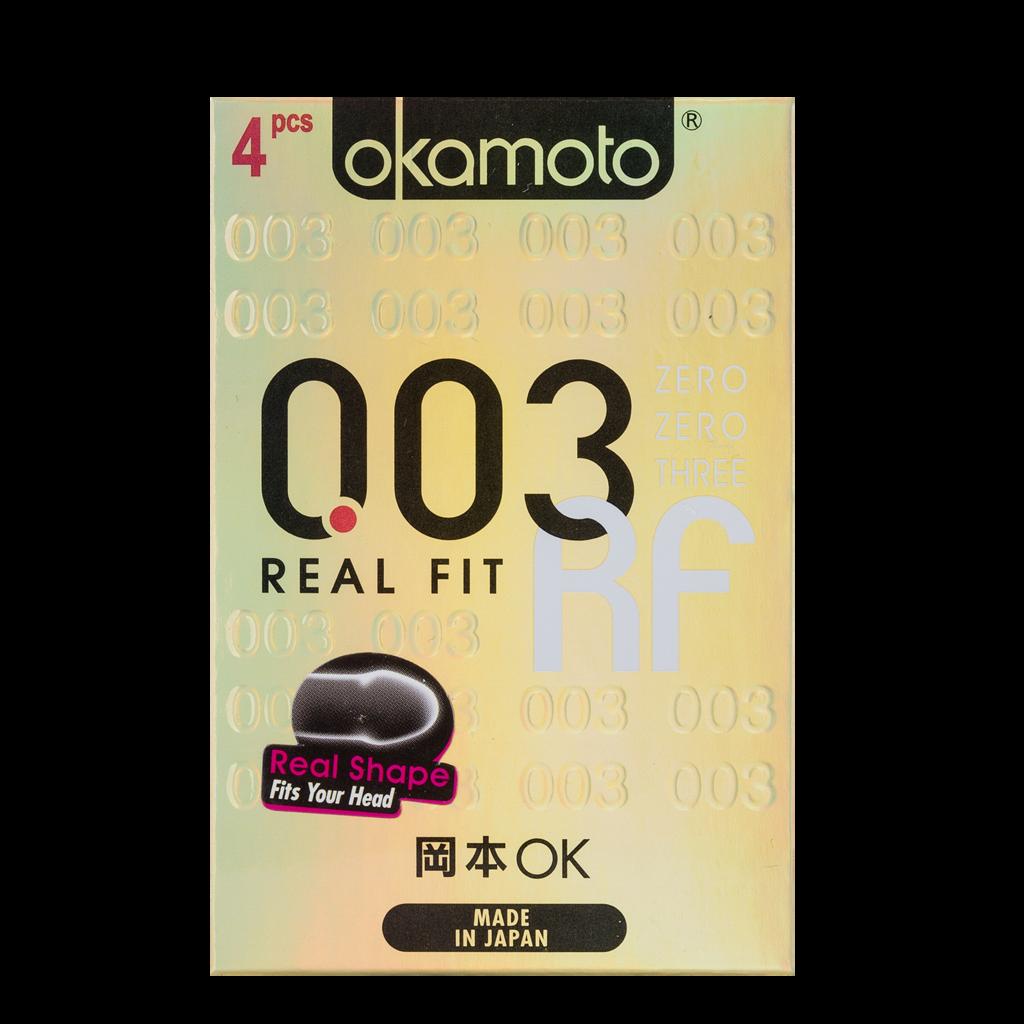 0.03 Real Fit Okamoto Condom