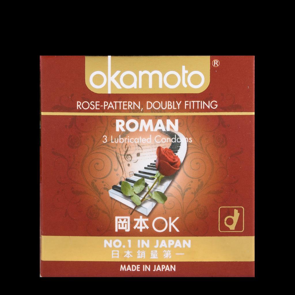 Roman Rose Okamoto Condom