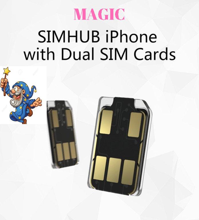 SIMHUB Dual SIM Cards
