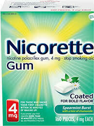 Sell Nicorette Gum 160-170 Piece Box