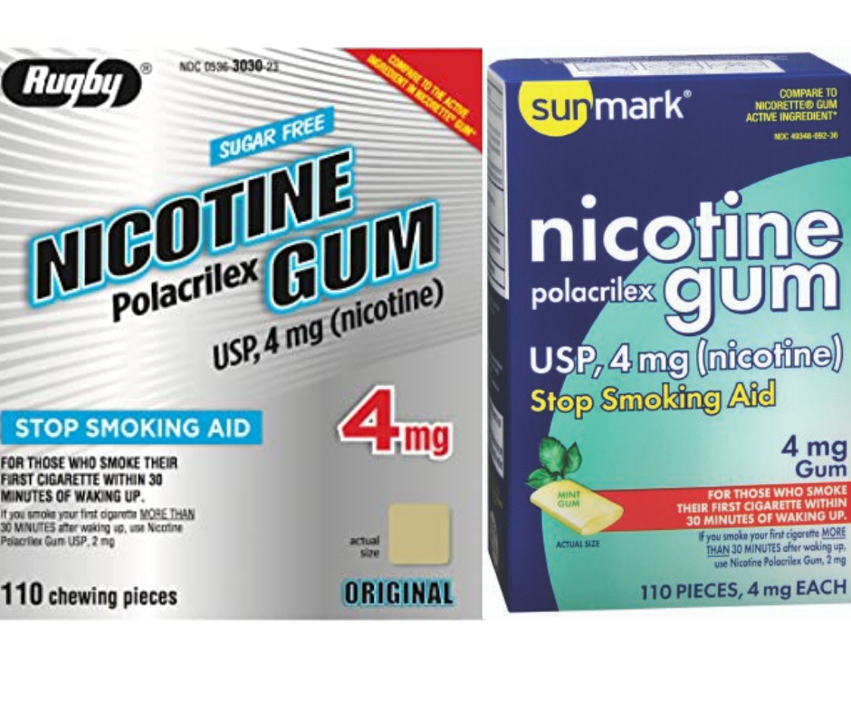Sell Generic Nicotine Gum 100+ Piece Box