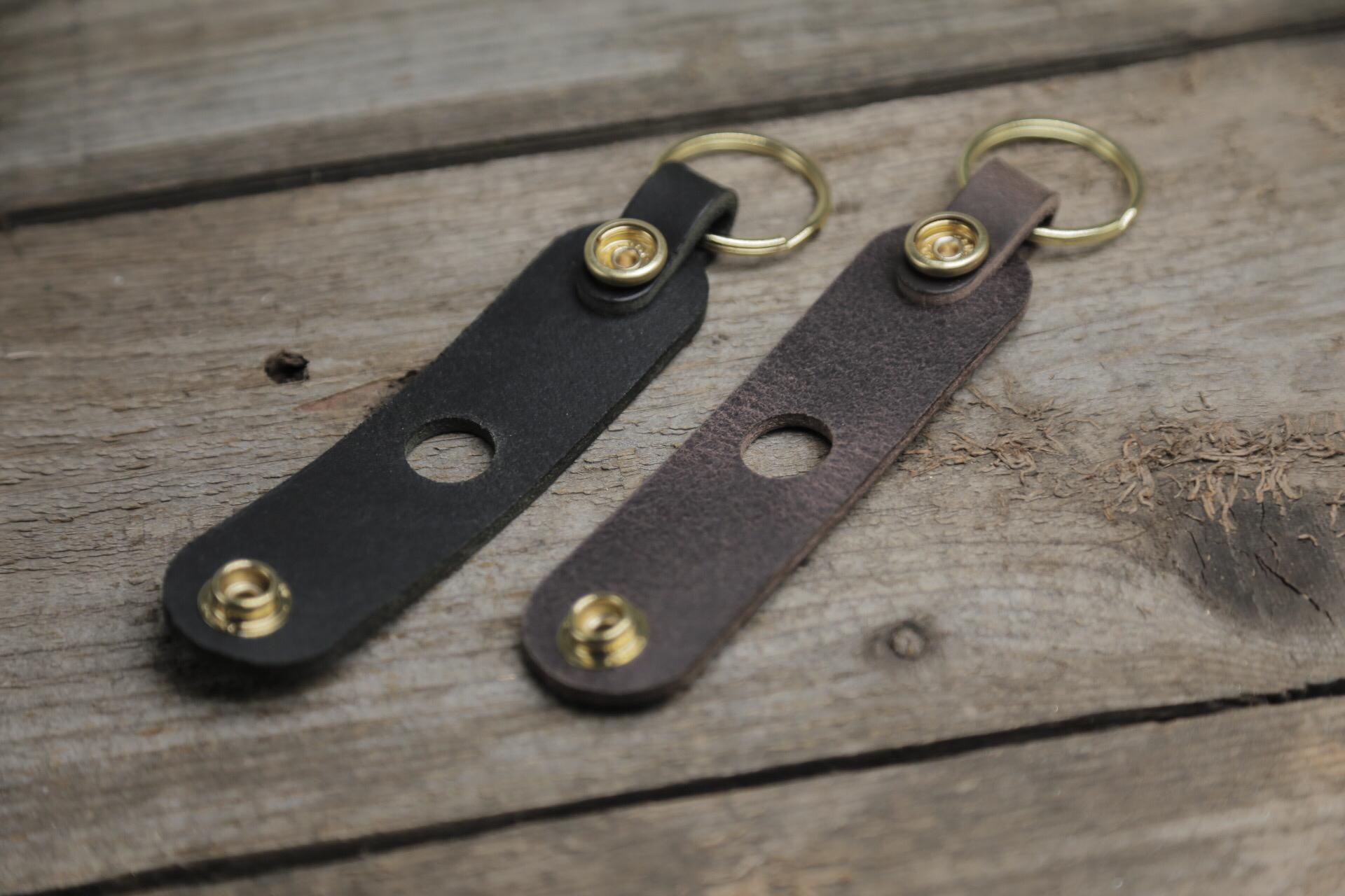 """""""Holster"""" Leather Key Case"""