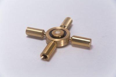 REVOLVER Drum Key Fidget Spinner