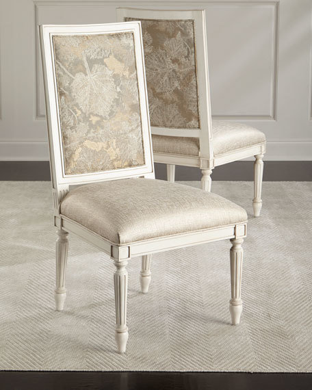 John Richard Keiko Dinning Chairs Set Of 2 1499 Free Shipping