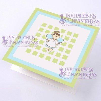 Invitación Bautizo BabySimple 08