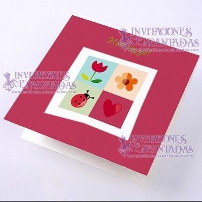 Invitación Bautizo BabySimple 011