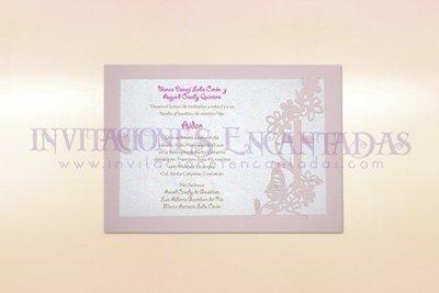 Invitación Corte Laser Religiosa 07B