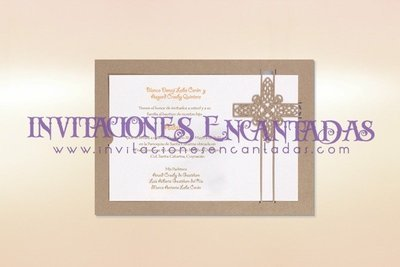 Invitación Corte Laser Religiosa 01B