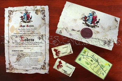 Invitación Medieval 21