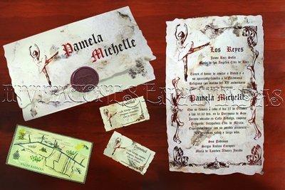 Invitación Medieval 25