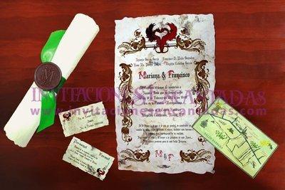 Invitación Medieval 35