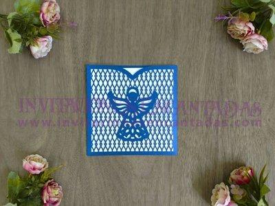 Invitación Bautizo 04 Sobre Angel