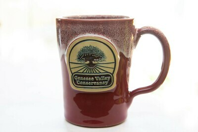 Genesee Valley Conservancy Mug - Cranberry