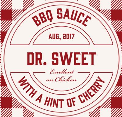 Dr. Sweet BBQ Sauce