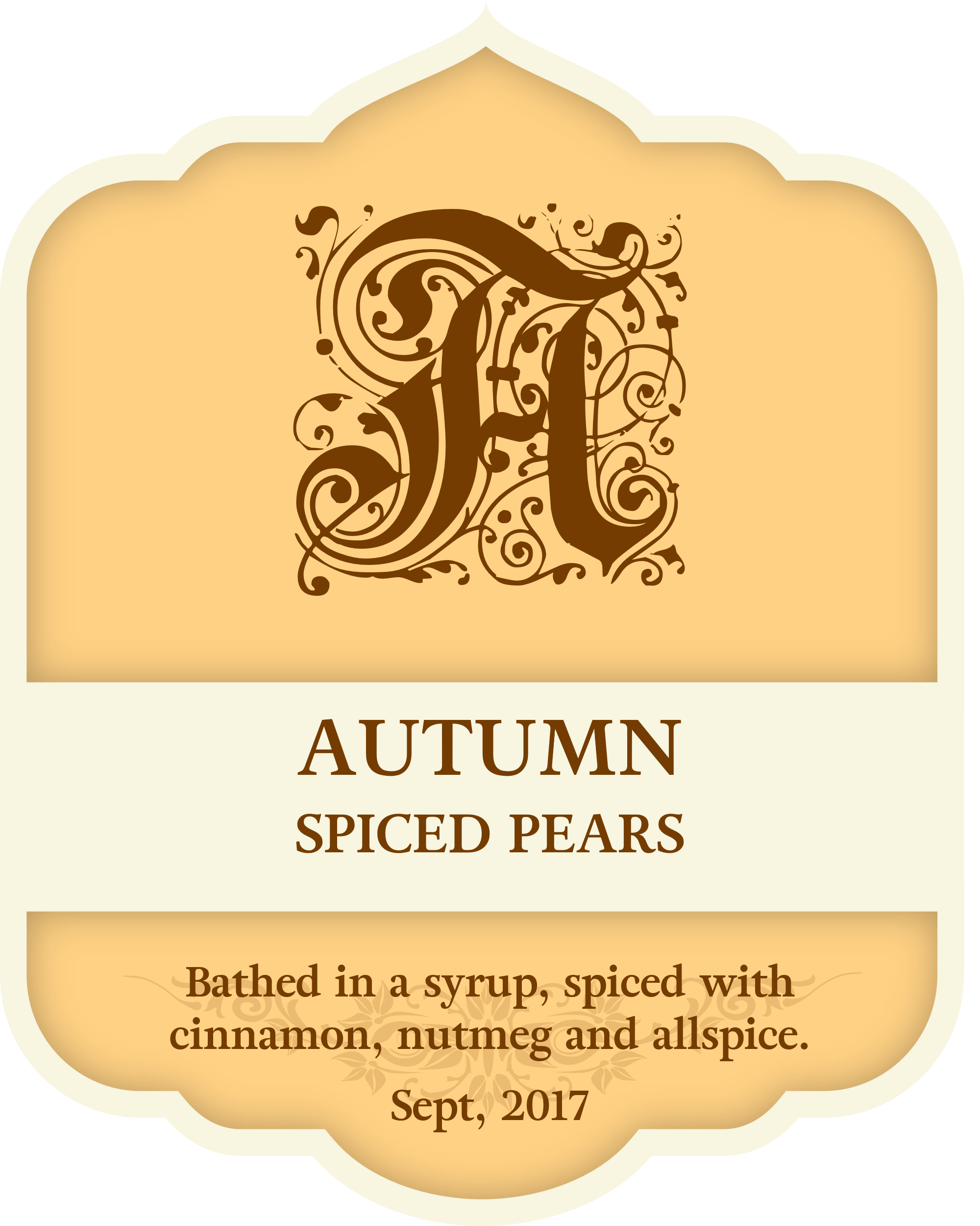 Autumn Spiced Pears 00001