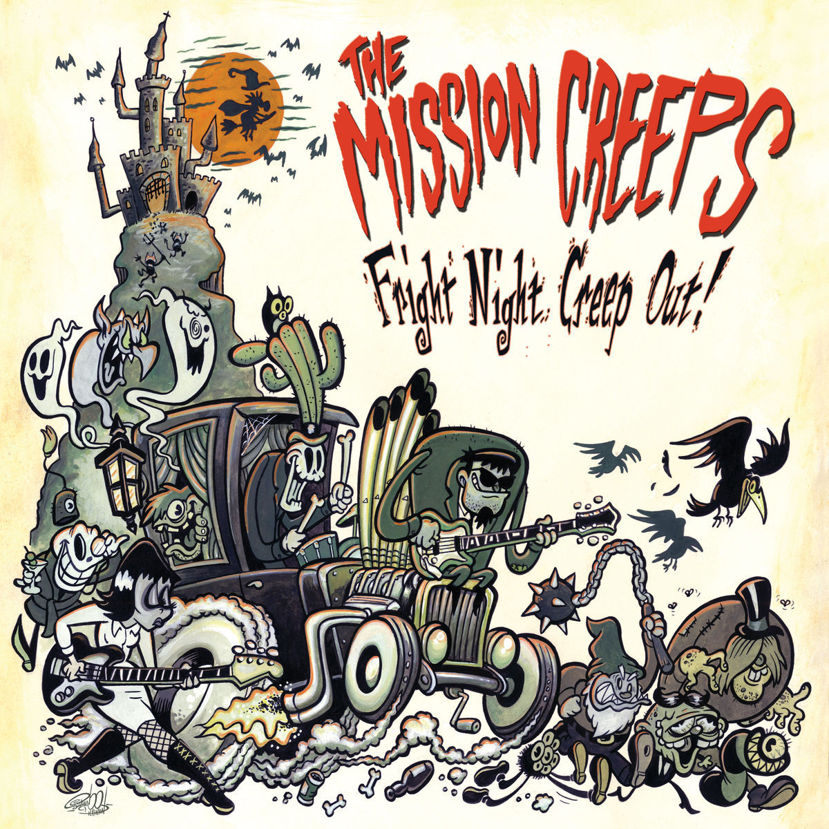 Fright Night Creep Out Orange Vinyl