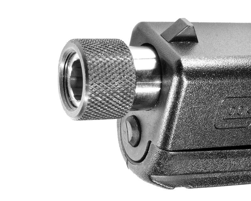Tactical thread protector for pistols pistol barrel