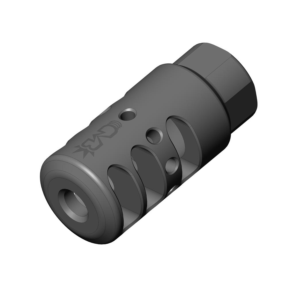 Q-Type Extreme Duty Muzzle Brake
