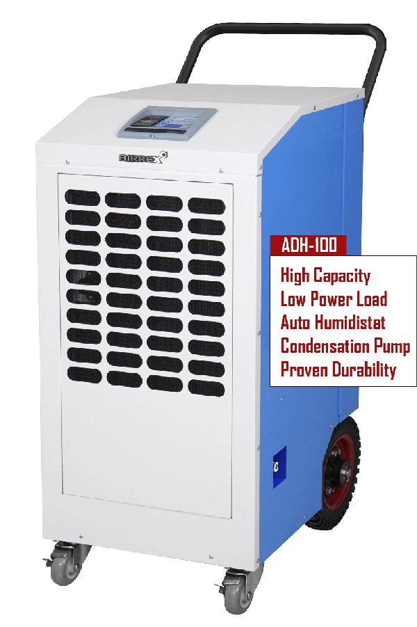Airrex ADH-100  High Capacity Dehumidifier 00020