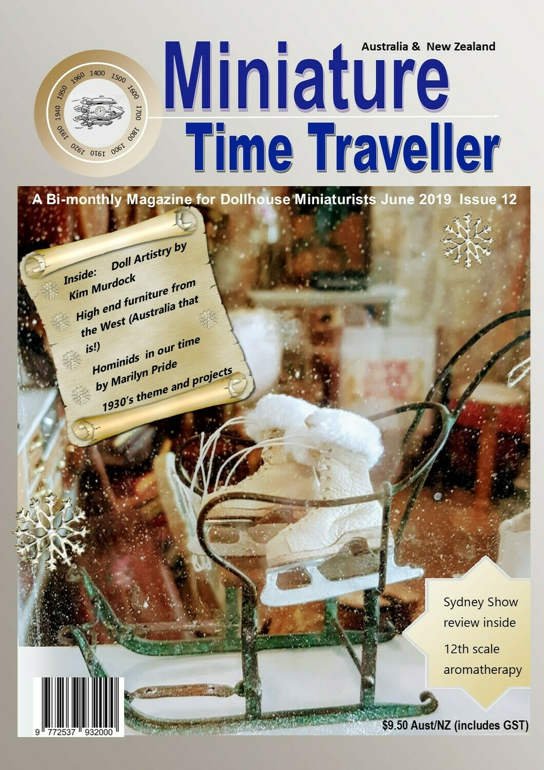 June 2019 - Miniature Time Traveller Magazine - Single Issue only. Postage extra.