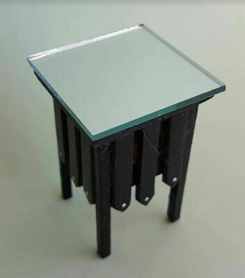 Art Deco End Table Kit 12th Scale