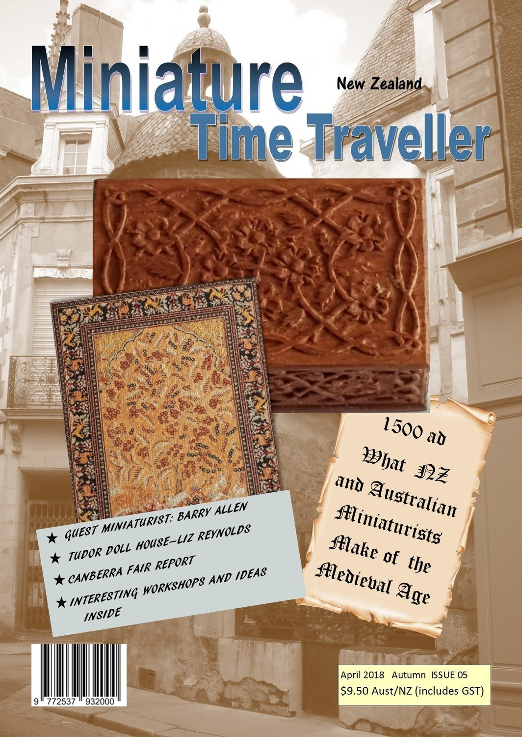 April 2018 Issue - Miniature Time Traveller Magazine - Single copy only. Postage extra