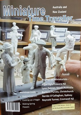 August 2018 Issue - Miniature Time Traveller Magazine - Single copy only. Postage extra.