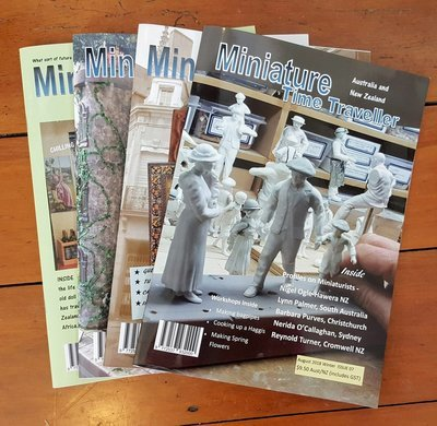 Miniature Time Traveller Magazine - SAVE 15% with an Annual subscription - 6 Copies plus P&P.
