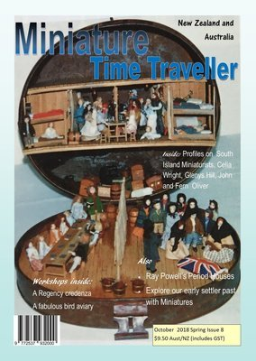 October 2018 Issue - Miniature Time Traveller Magazine - Single Issue only. Postage extra.