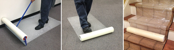 "Carpet Protection Film - (24"" x 200')"