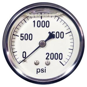 Pressure Guage, 2000psi