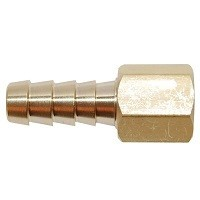 "Brass Barb - 3/8"" x 1/8"" FPT"