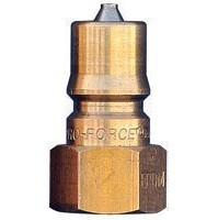 "1/4"" Brass Male Quick Connect Coupler ""QD"""